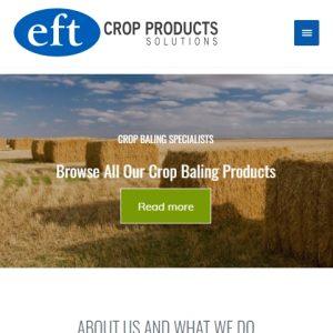 Web Design Portfolio - Eft Products