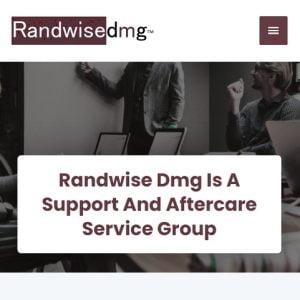 Web Design Portfolio - Randwise DMG